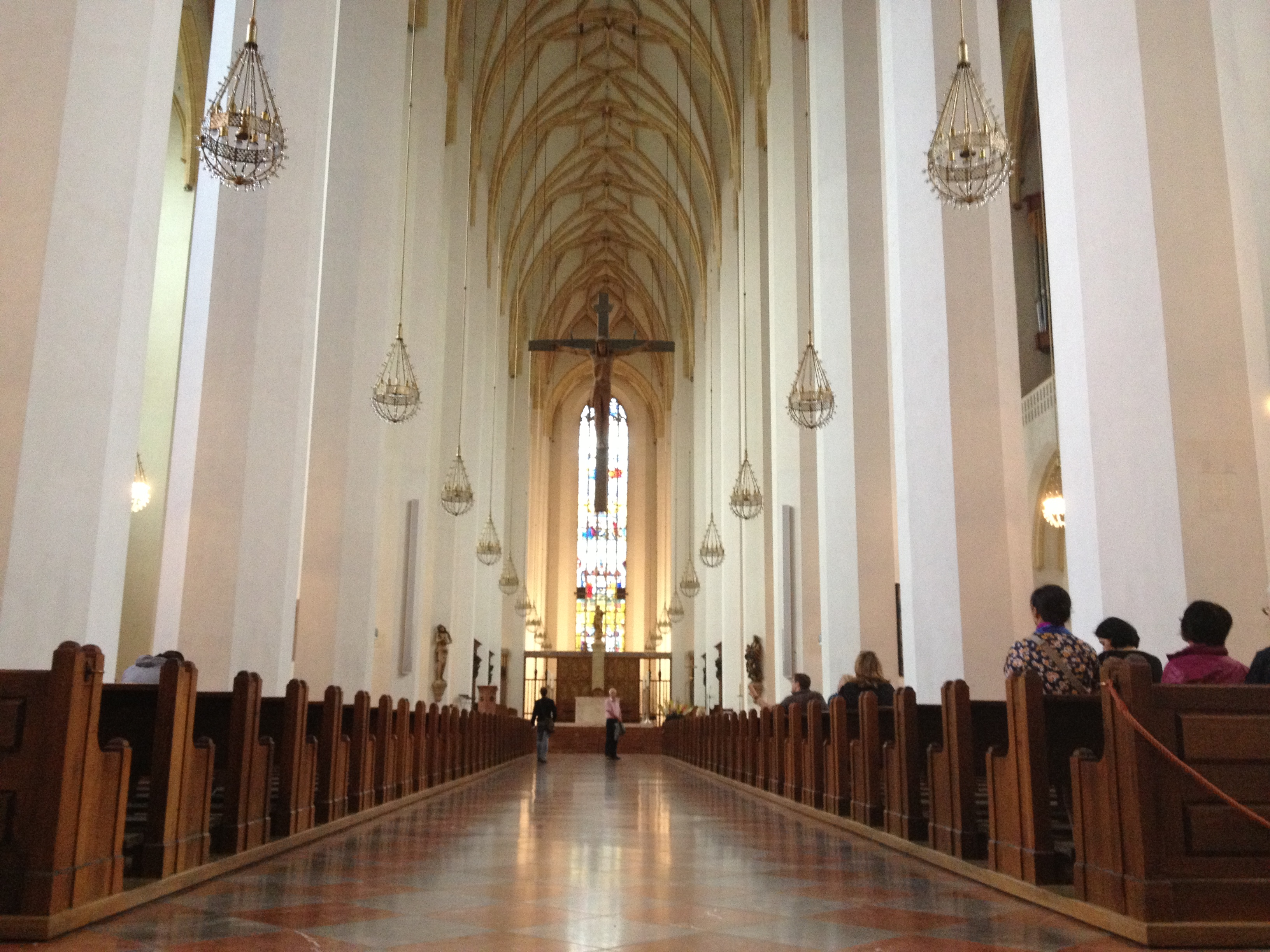 Sunday in Munich – Pastries and Church